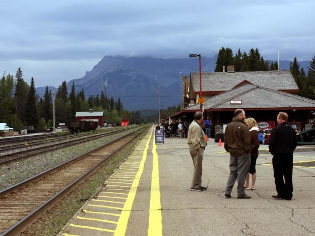 Banff passengers