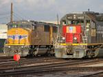 UP 2449 and 1485 in Phoenix, AZ 2010/09/22