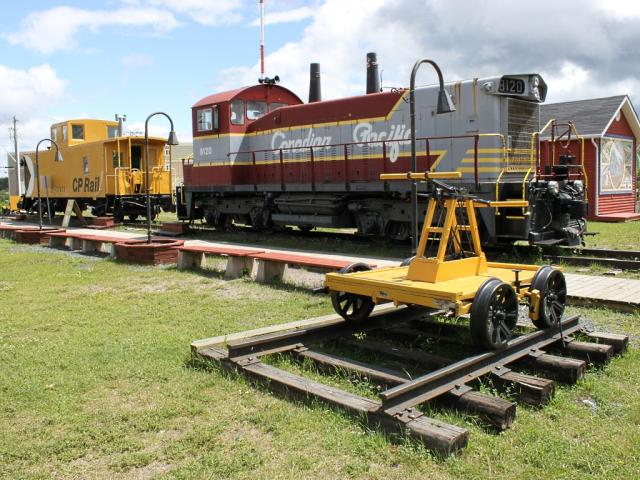CP 8120 at the Lake of the Woods Railway Museum