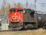 CN 8843 in Winnipeg, MB 2010/10/08