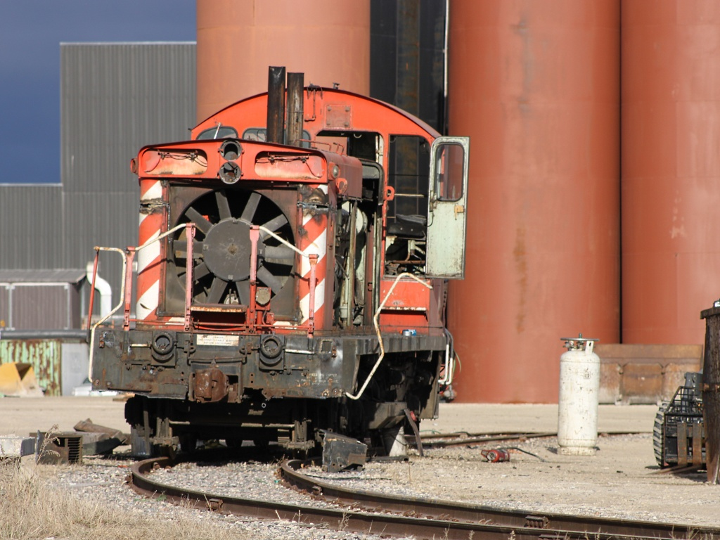 Ex CP 8131 in Winnipeg, MB 2010/10/20