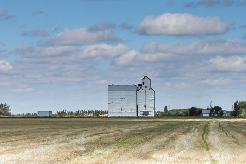 Sperling Grain Elevator, September 2010