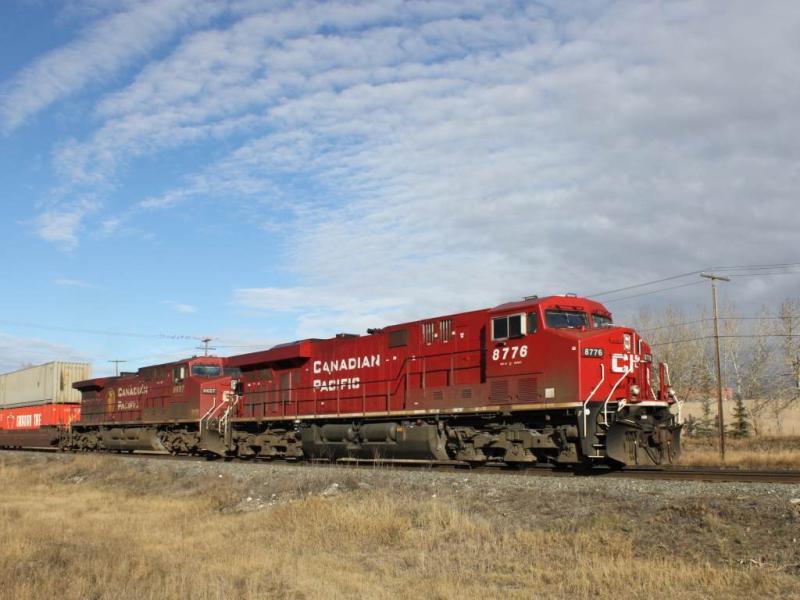 CP 8776 in Calgary Alberta