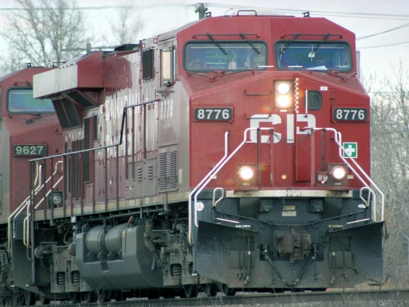 CP 8776 in Calgary