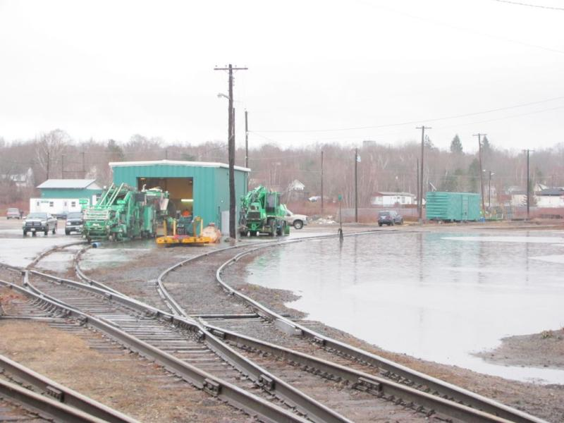 McAdam Train Yard Flood 2010/12/14 by Jody Robinson