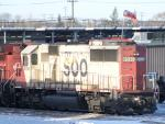 CP 6030 in Winnipeg, MB 2010/12/28