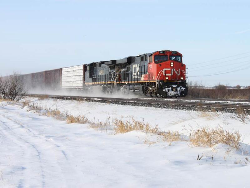 CN 2221 in Winnipeg