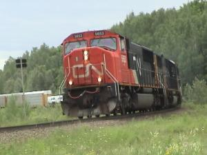 CN 149 near Plaster Rock, NB 2005/07/09