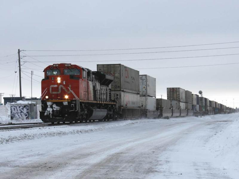 CN 8888 in Winnipeg