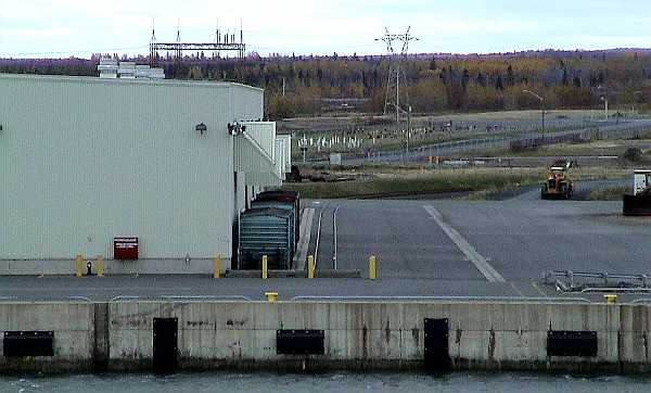 Port of Belledune dock