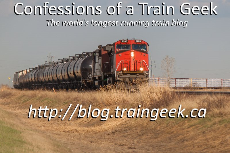 Confessions of a Train Geek Blog
