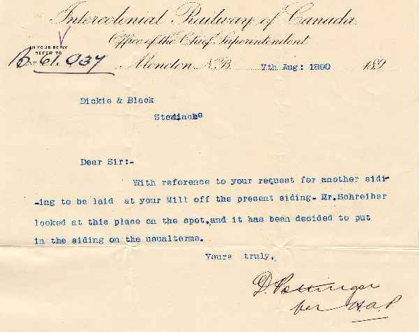 Intercolonial Railway Papers