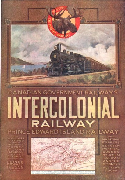 A 1911 advertisement for the Canadian Government Railways on Prince Edward Island.