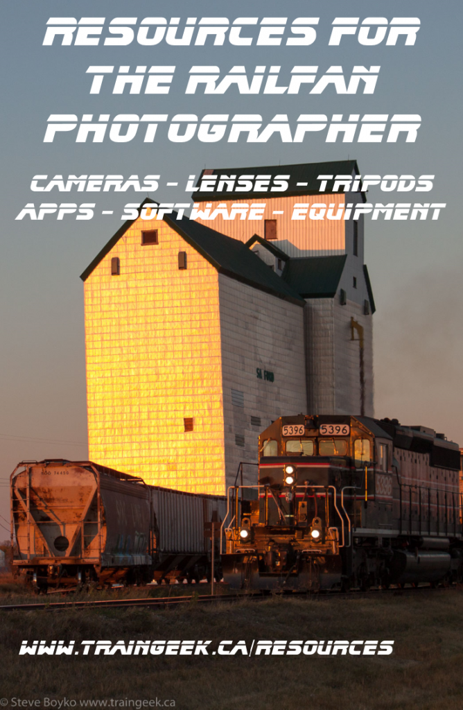 Resources for the Railfan Photographer