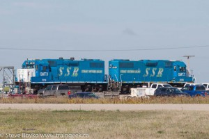 Stewart Southern - one of the many Saskatchewan shortline railways