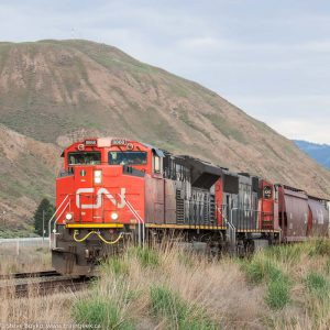 CN 8868 near Kamloops, British Columbia