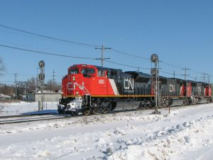 CN in Winnipeg, Manitoba