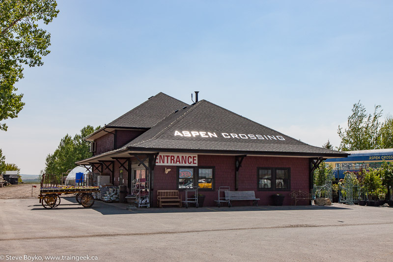 Station / gift shop at Aspen Crossing