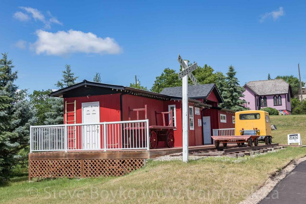 Exterior of Souris Railway Museum