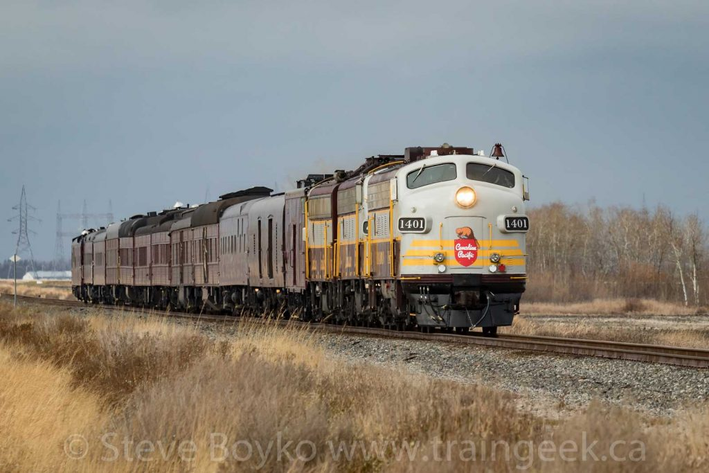 CP 1401 and the business train