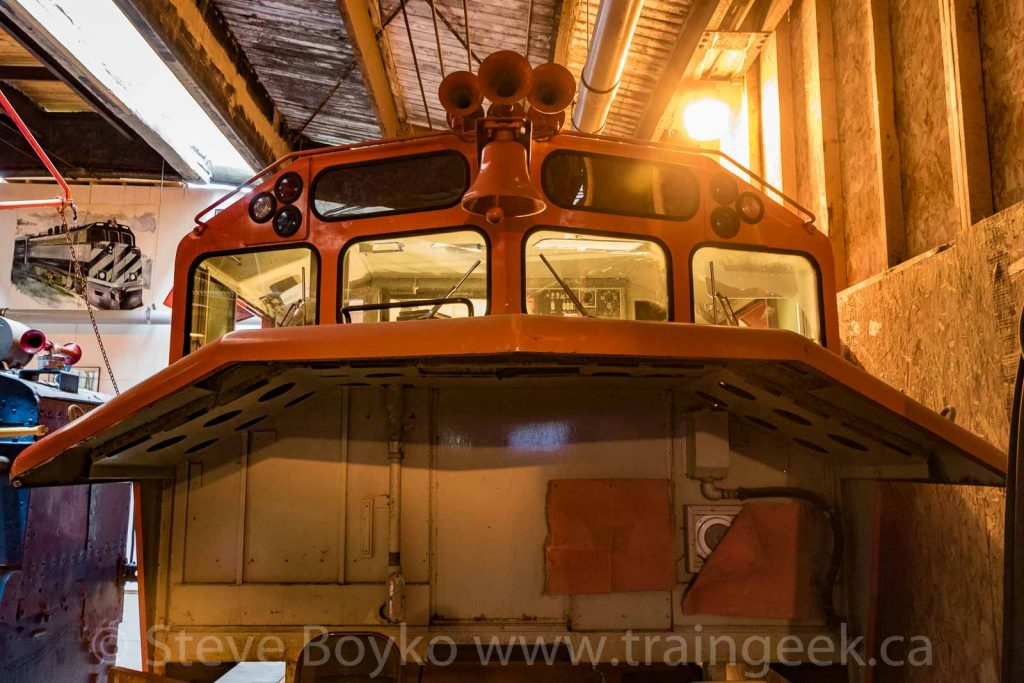 The Winnipeg Railway Museum's new simulator