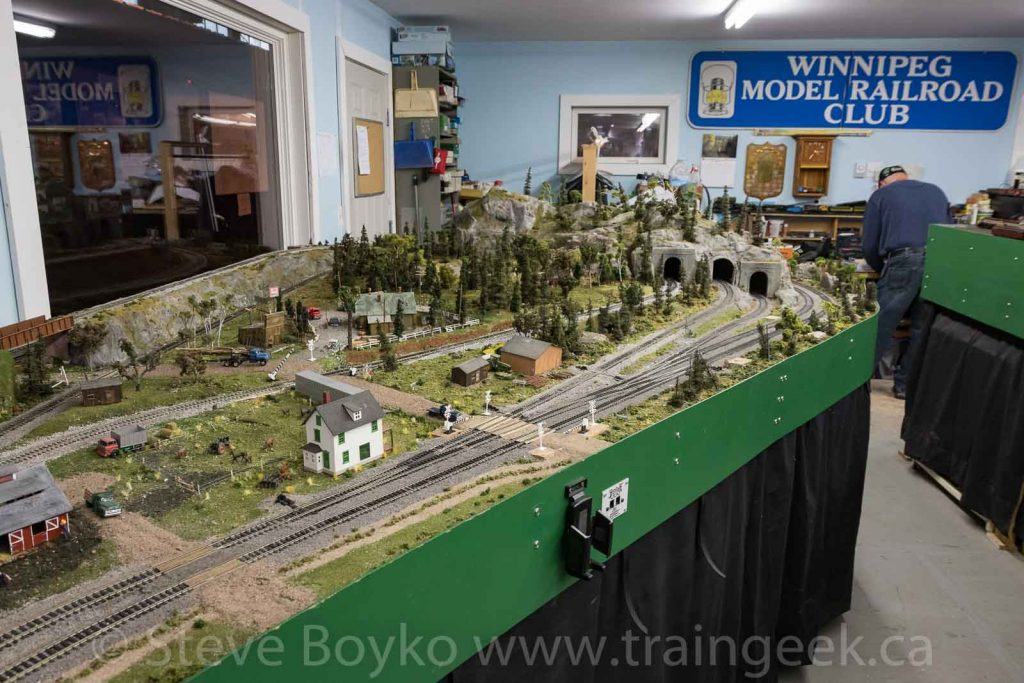The Gateway Western model train layout
