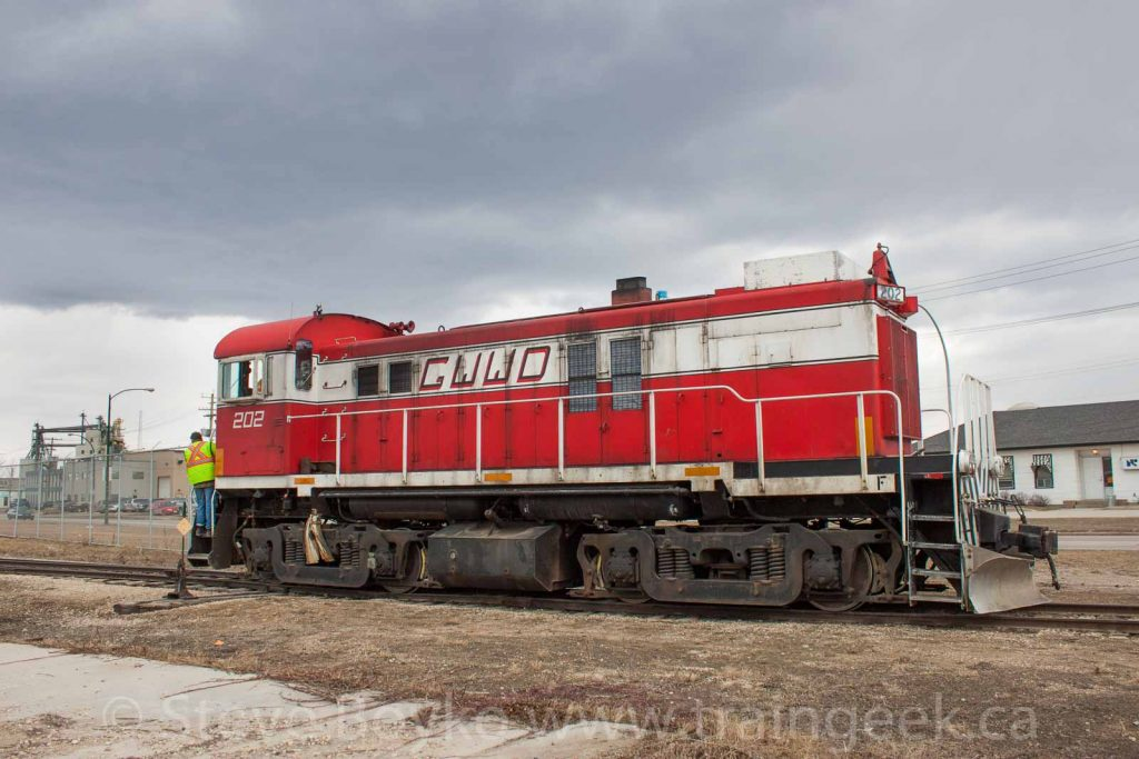 GWWD 202 in Winnipeg, April 2015.