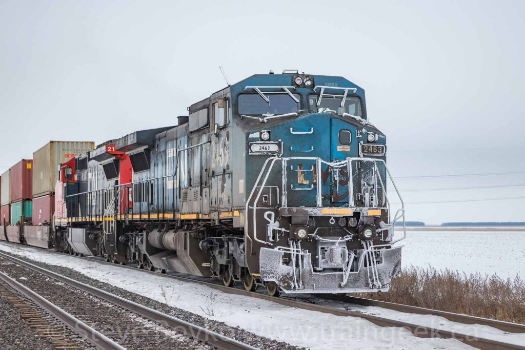 Frosty IC 2463 outside Winnipeg