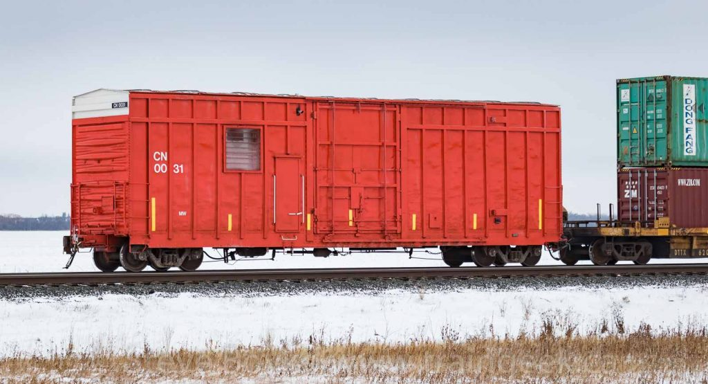 Distributed braking boxcar CN 0031