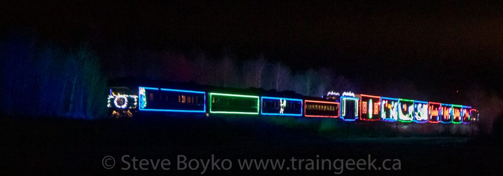 CP Holiday Train near Whitemouth, MB