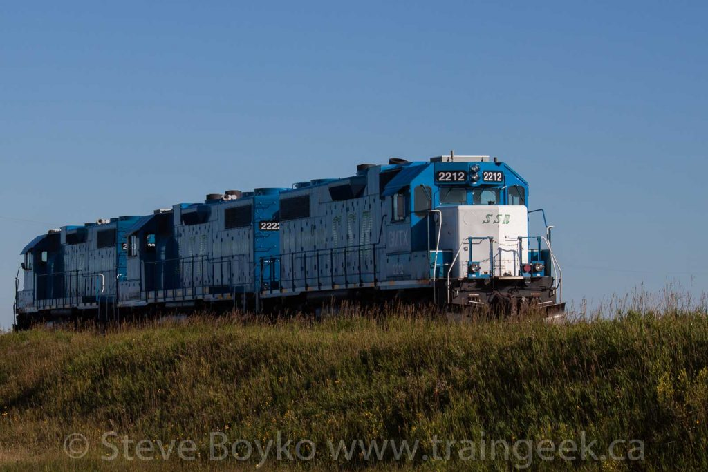 GATX leased locomotives on the Stewart Southern