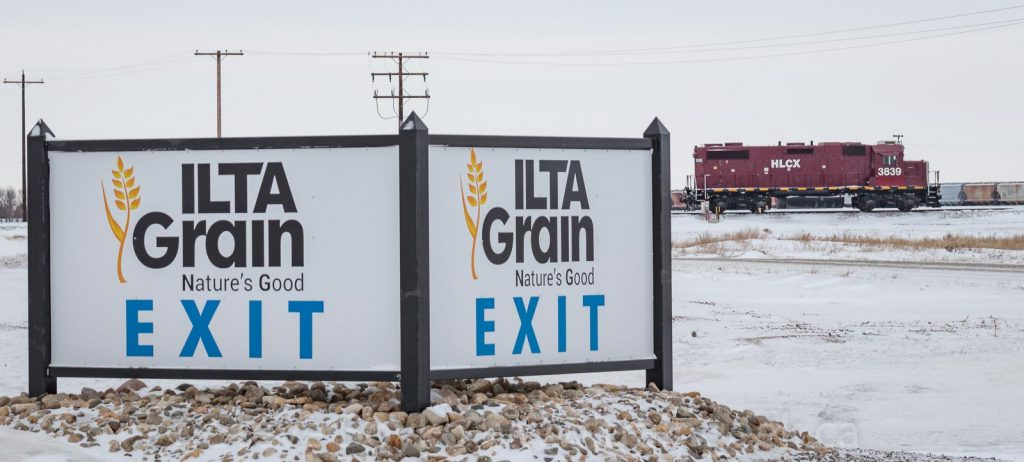 Ilta Grain and their locomotive