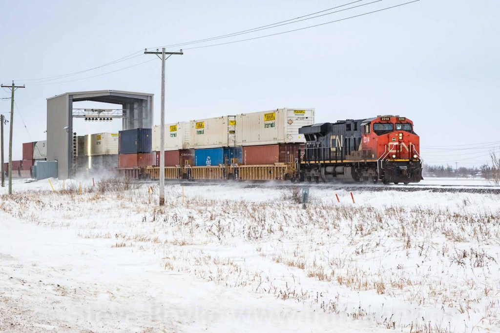 CN's Rail Inspection Portals - Traingeek - Trains and