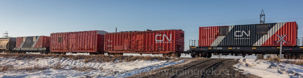 Distributed braking boxcars and containers