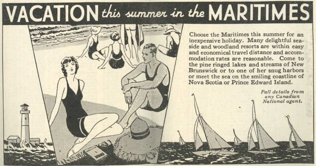 1931/06/28 Vacation This Summer in the Maritimes