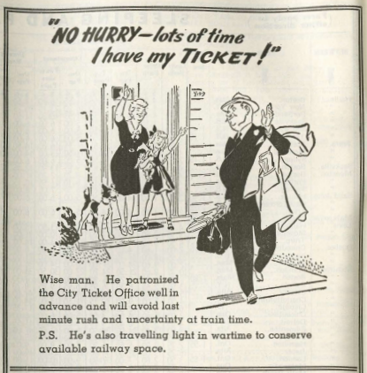 1943/06/27 - No Hurry, Lots of Time