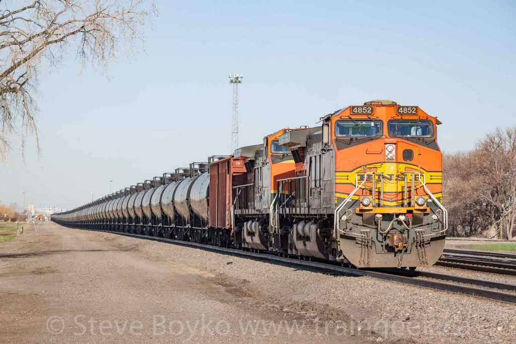 BNSF in Dilworth, Minnesota