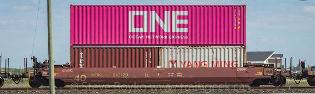 Pink ONE container