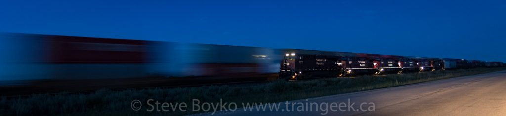 Blue hour at Meadows siding