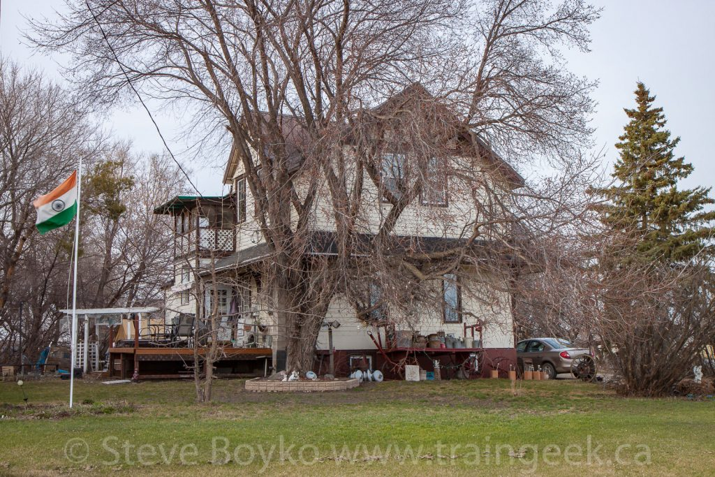 Ex CP train station in Shoal Lake, MB, April 2017.