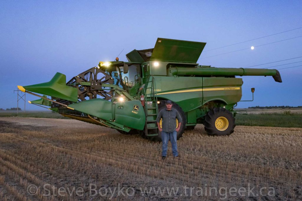 Sheldon and the combine