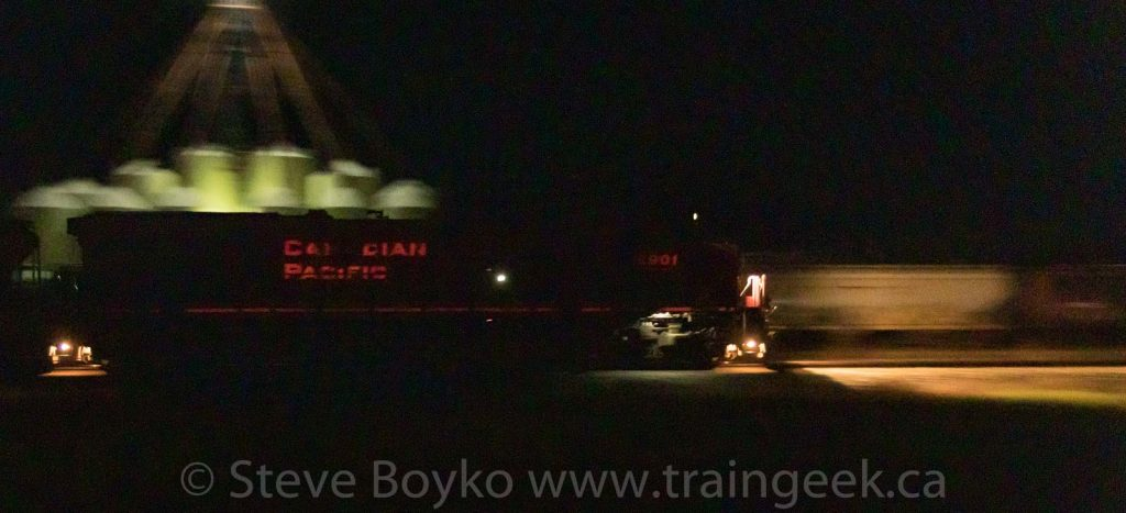 CP 8901 in the darkness