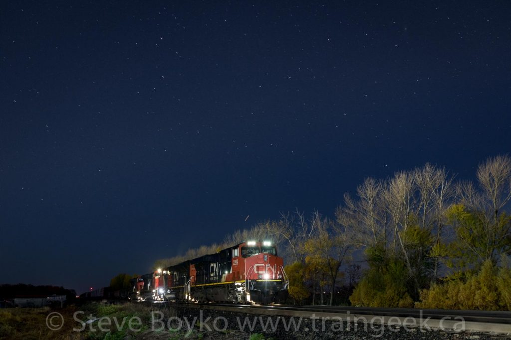 CN 2289 and company in the dark