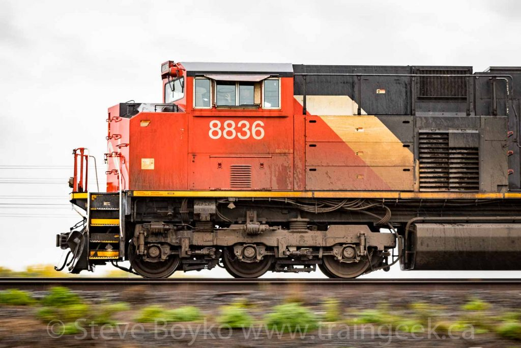 Panning CN 8836 - nice wave from the conductor