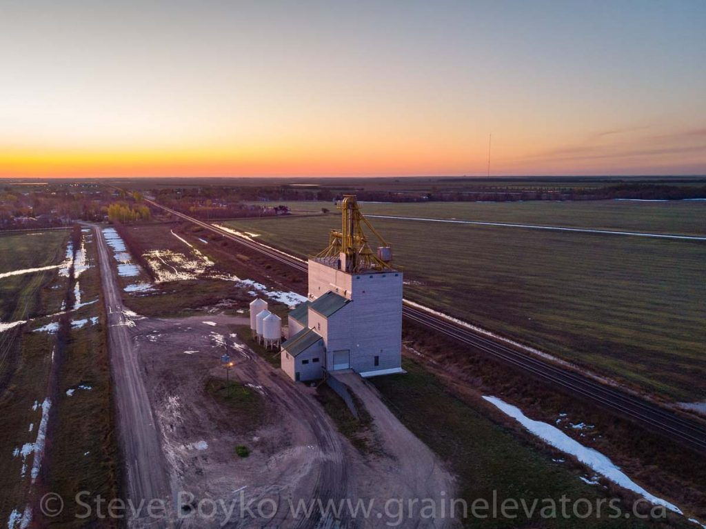 Another view of the Elie grain elevator