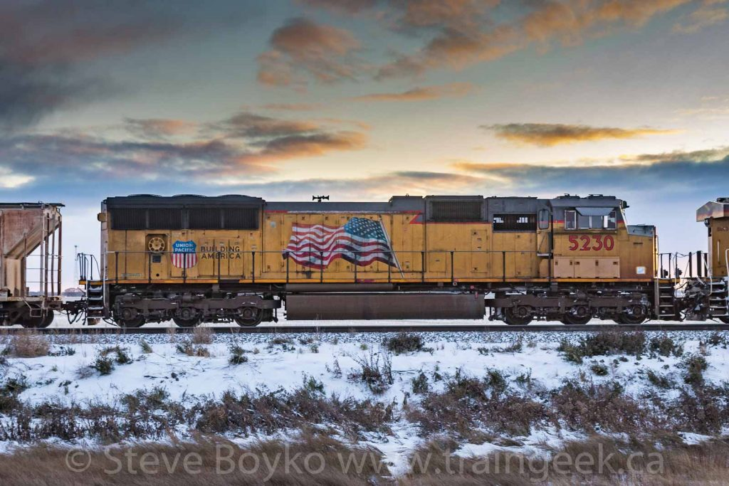 Union Pacific 5230 near Lorette