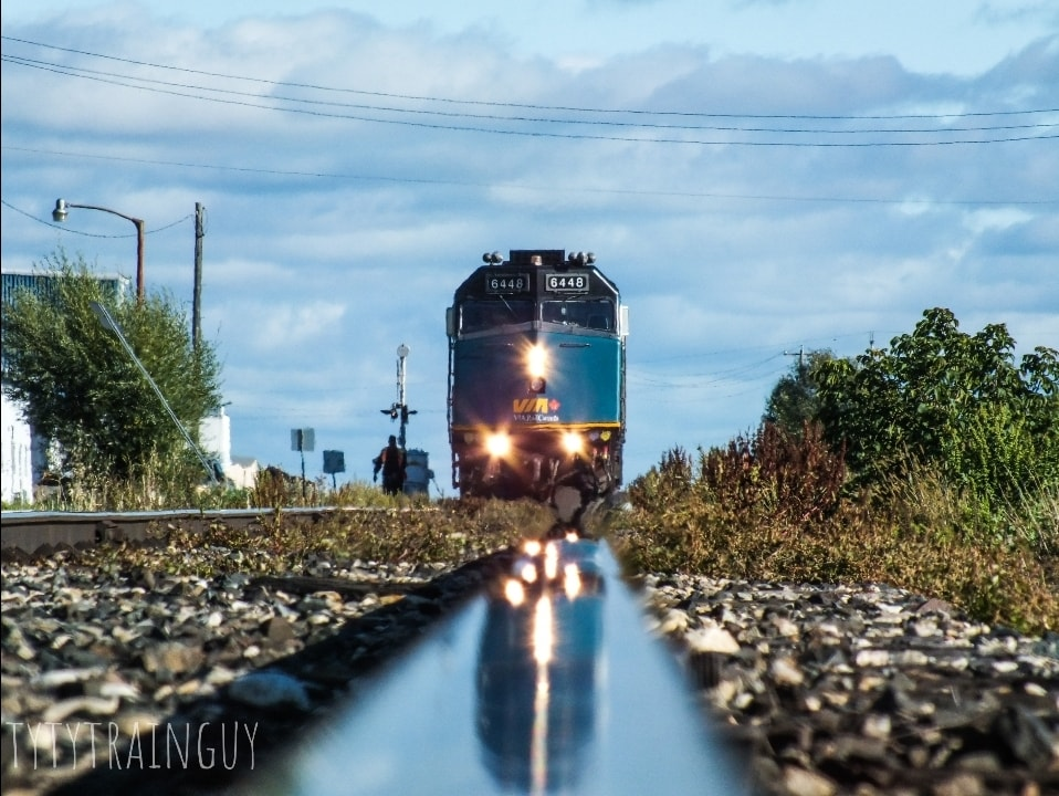 VIA Rail, Grandview MB - photo by Tyler Kowalski