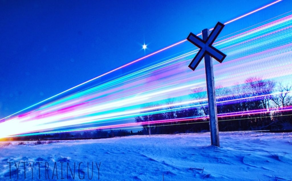 CP Holiday Train - photo by Tyler Kowalski