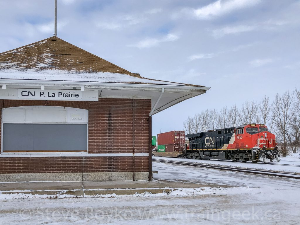 Passing the ex CN train station