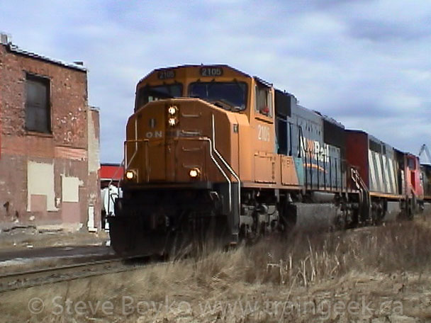 ONR 2105 in Saint John, NB